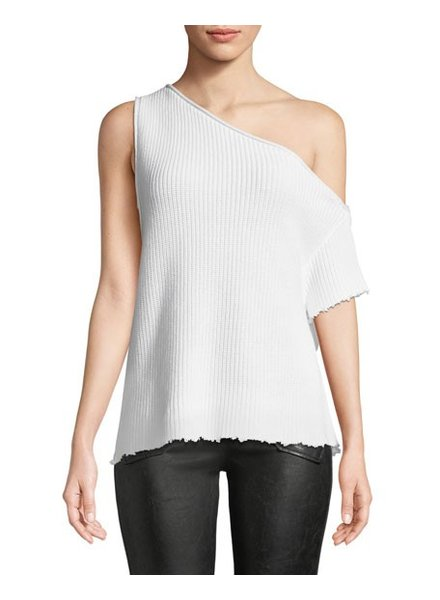 RTA SLOANE OFF THE SHOULDER SWEATER