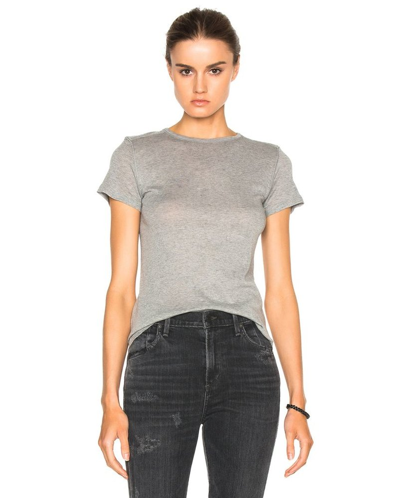 HELMUT LANG GREY SHRUKEN T SHIRT