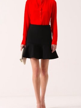 MCQ PEPLUM MINI SKIRT