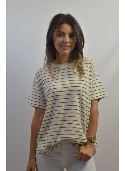 BY MALENE BIRGER STRIPED T SHIRT