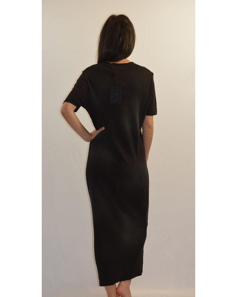 IRO BLACK MAXI DRESS