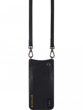 BANDOLIER EMMA PEWTER & BLACK IPHONE 8