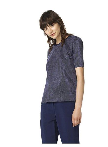 MALENE BIRGER BLUE/SILVER TOP