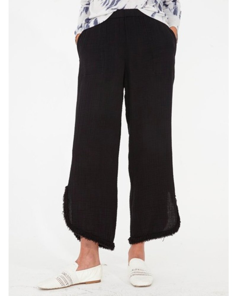 c22f34f0ac941 RAQUEL ALLEGRA CUT OUT PANT IN BLACK - The Peacock Boutique