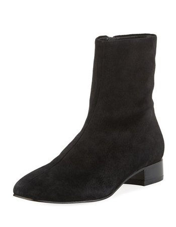 RAG & BONE BLACK SUEDE ASLEN BOOT