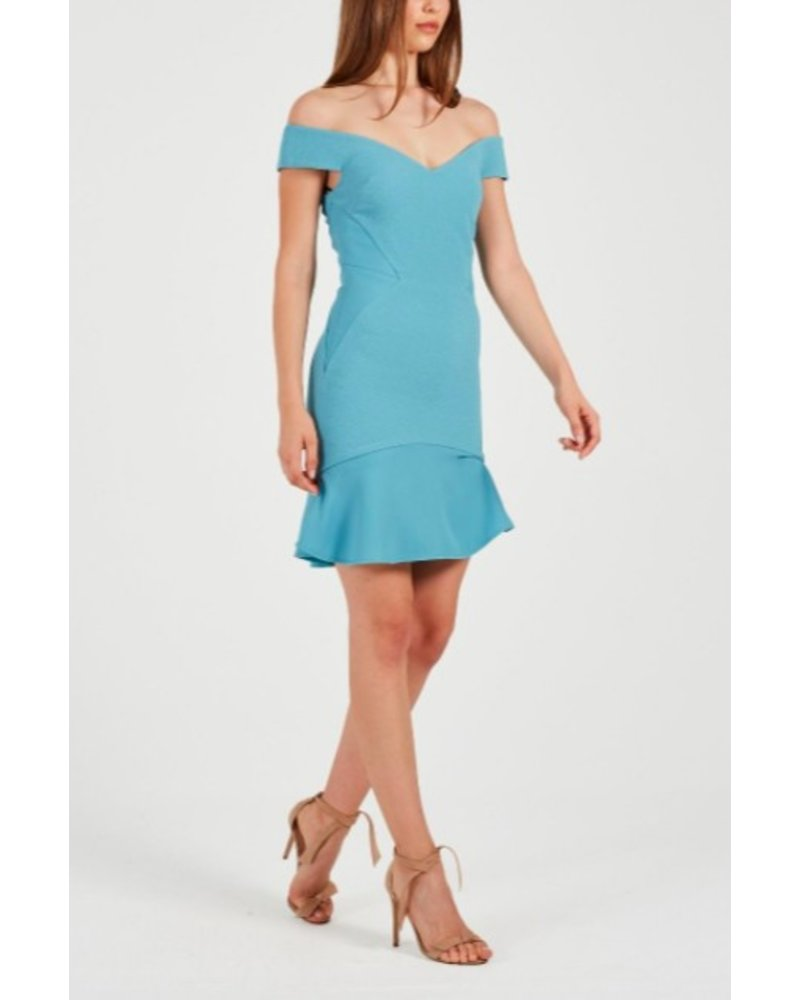 REBECCA VALLANCE ANISE MINI DRESS STILLWATER