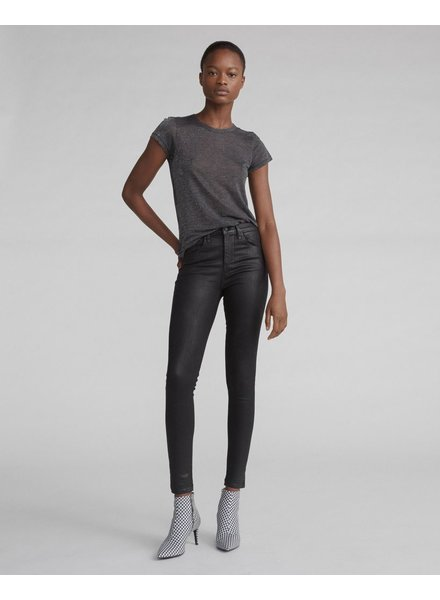 RAG & BONE SHINY HIGH RISE