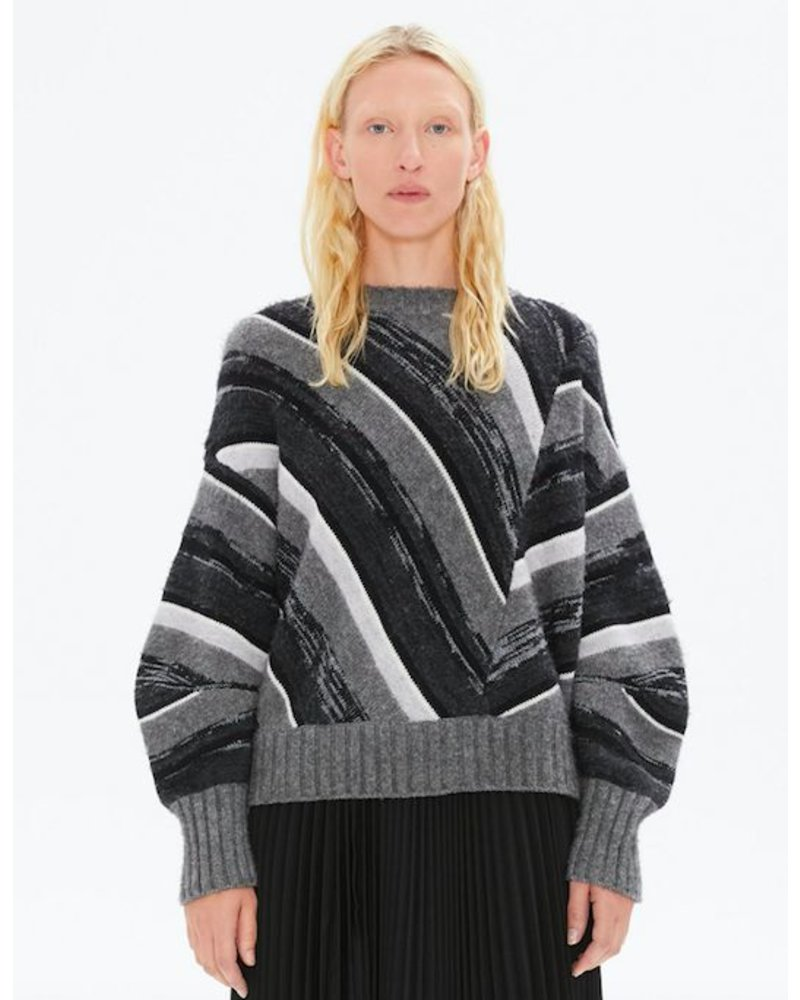 HELMUT LANG LONG SLEEVE OMBRE