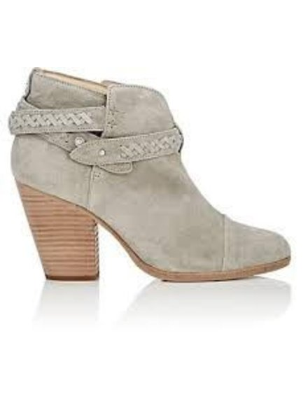 RAG & BONE BRAIDED TAUPE SUEDE BOOT
