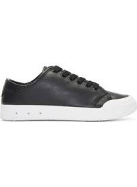 RAG & BONE BLK LEATHER LACE UP SHOE