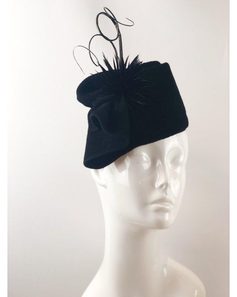 PATRICIA MELICAN MILLINERY AVERY FREE FORM FASCINATOR