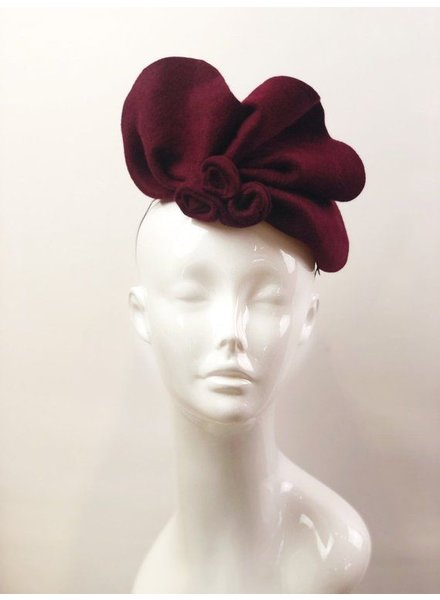 PATRICIA MELICAN MILLINERY ALAINA FREEFORM FASCINATOR