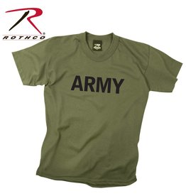 ROTHCO T-Shirt Enfant Style Militaire Army OD