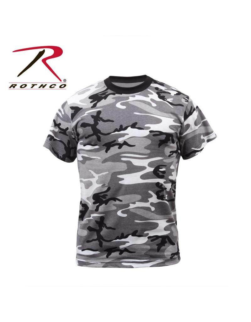ROTHCO T-Shirt Enfant Camouflage Urbain