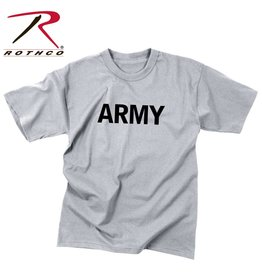 ROTHCO T-Shirt Enfant Style Militaire Army Gris