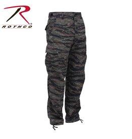 ROTHCO Pantalon Style Militaire Tiger Stripe