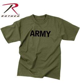 ROTHCO Rothco Olive Drab Military Physical Training T-Shirt