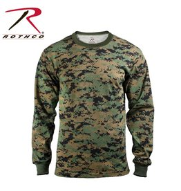 ROTHCO Rothco Long Sleeve Digital Camo T-Shirt