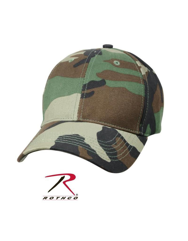 ROTHCO Casquette Enfant Camouflage Woodland Rothco