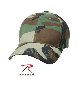 ROTHCO Woodland Rothco Camouflage Cap