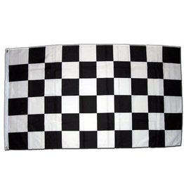 DRAPEAU IMPORT Damier Checker Racing Flag