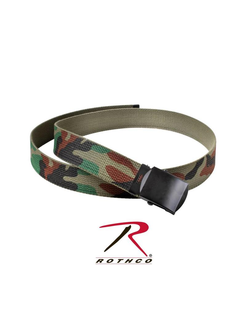 ROTHCO Ceinture Rothco Camouflage (6) Cotton Militaire