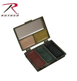 ROTHCO Rothco 5 Color Camo Face Paint - Square Compact