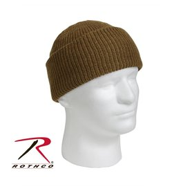 ROTHCO Tuque 100% Laine Coyote Rothco