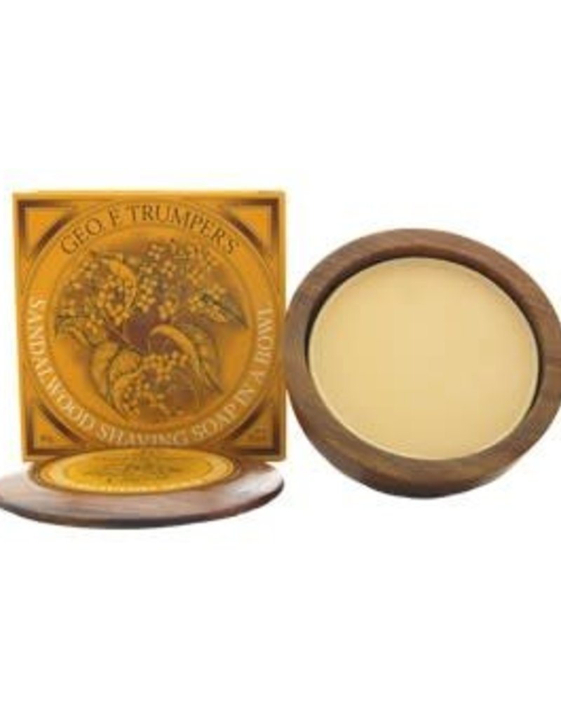Geo F. Trumper Trumper Sandalwood Soap With Bowl