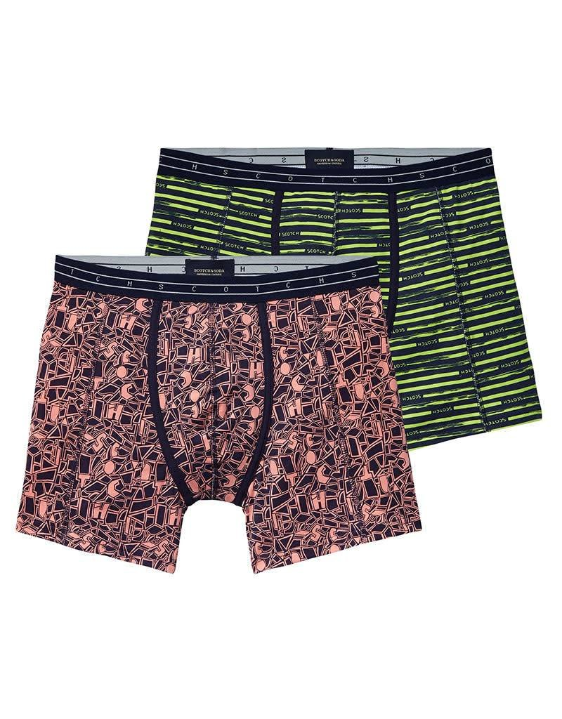 Scotch & Soda All-over Printed Boxer | 136581-0220