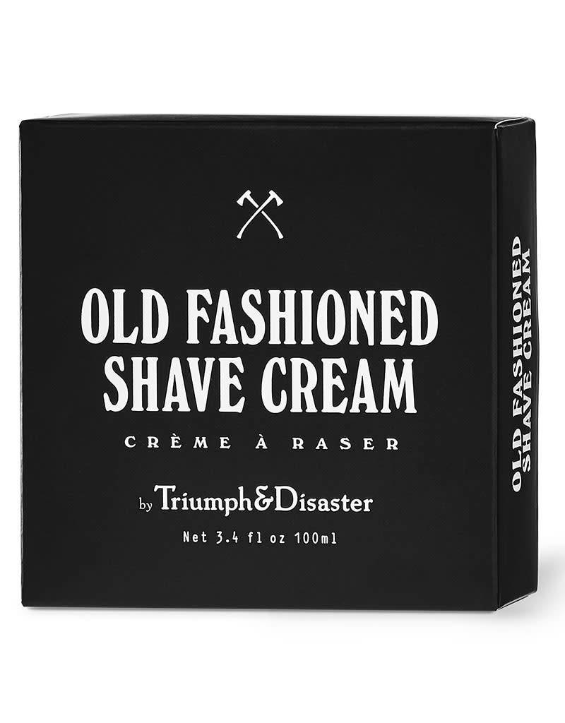 Triumph & Disaster Old Fashioned Shave Creme Jar