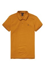 Scotch & Soda Garment Dyed Polo In Cotton Pique | Nutmeg 139763-0500