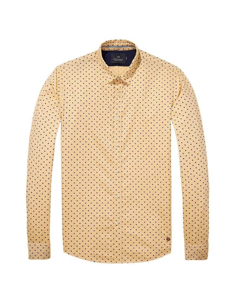 Scotch & Soda Oxford Shirt  | Yellow 139555-0217