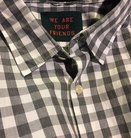 Scotch & Soda Checked Button Through Shirt  | Grey With White 101468-0061