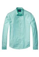 Scotch & Soda Button Through Shirt   | Flash Green 136303-0108