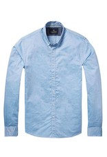 Scotch & Soda Poplin Shirt  | Light Blue 136322-0214