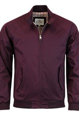 Ben Sherman Classic Harrington Jacket | Wine
