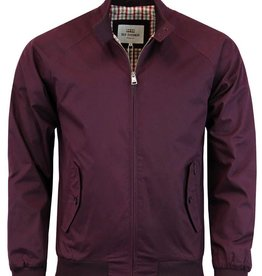 Ben Sherman Classic Harrington Jacket | Wine