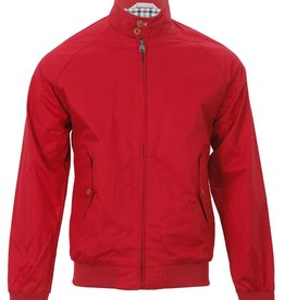 Ben Sherman Classic Harrington Jacket | Red