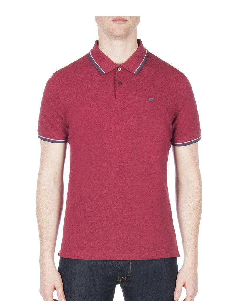 Ben Sherman Romford Polo Shirt   Red MC11485D87