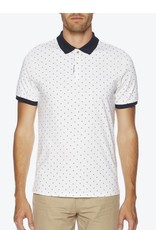 Ben Sherman Double Dotted | Bright White BQ211A47