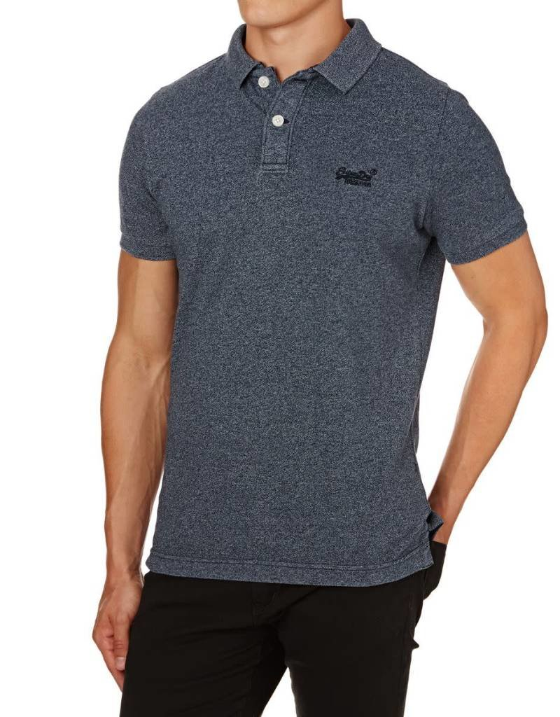 Superdry Destroy Vintage Polo | Blue