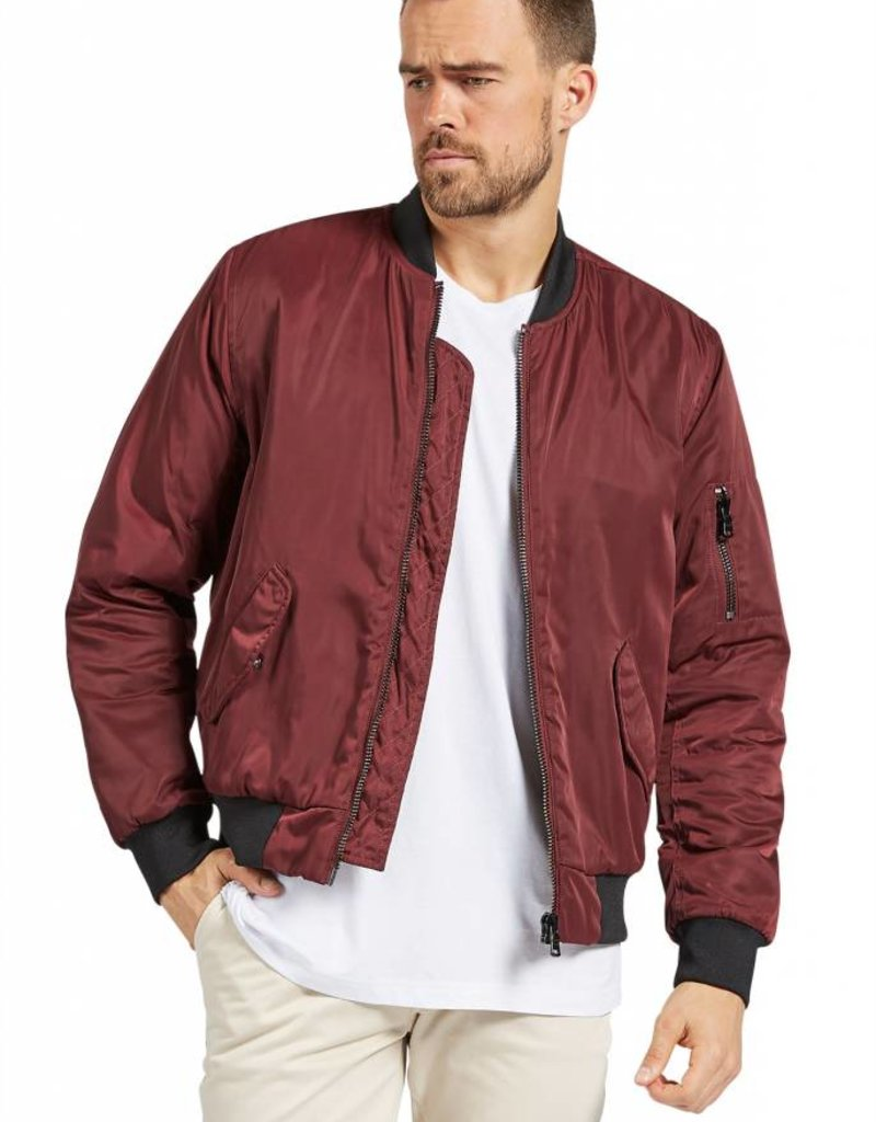 Tab 1 Jacket | Burgundy 18W217