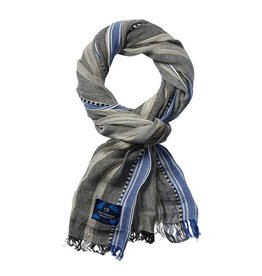 Scotch & Soda Cotton Scarf | Blue/ Grey 136608-0217
