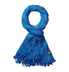 Scotch & Soda Cotton Scarf | Royal Blue Melange 136618-1148