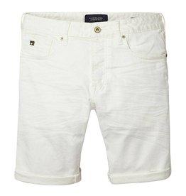 Scotch & Soda Ralston Cut Shorts | Optic White