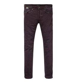 Scotch & Soda Dylan Pant | Garment Dyed 5-pocket Pant | Purple Rock 139528-1527