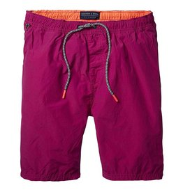 Scotch & Soda Classic Two-tone Swimshort | Magenta / Orange 136687-1146