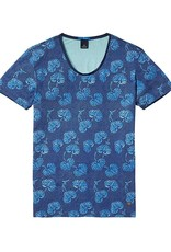 Scotch & Soda Printed Tee With Regular Fit | Blue 136446-0217