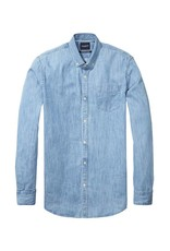 Scotch & Soda Indigo Shirt | Indigo 134364